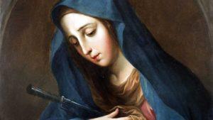 UM MÊS COM MARIA | 5º DIA – O JUÍZO DE DEUS