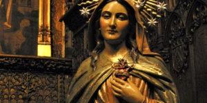 A devoção dos cinco primeiros sábados do mês em honra à Virgem de Fátima